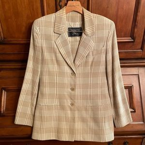 Burberry Blazer & Skirt Set